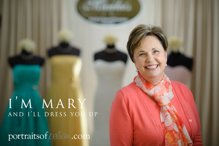 Mary Marr from Marilee's Bridal