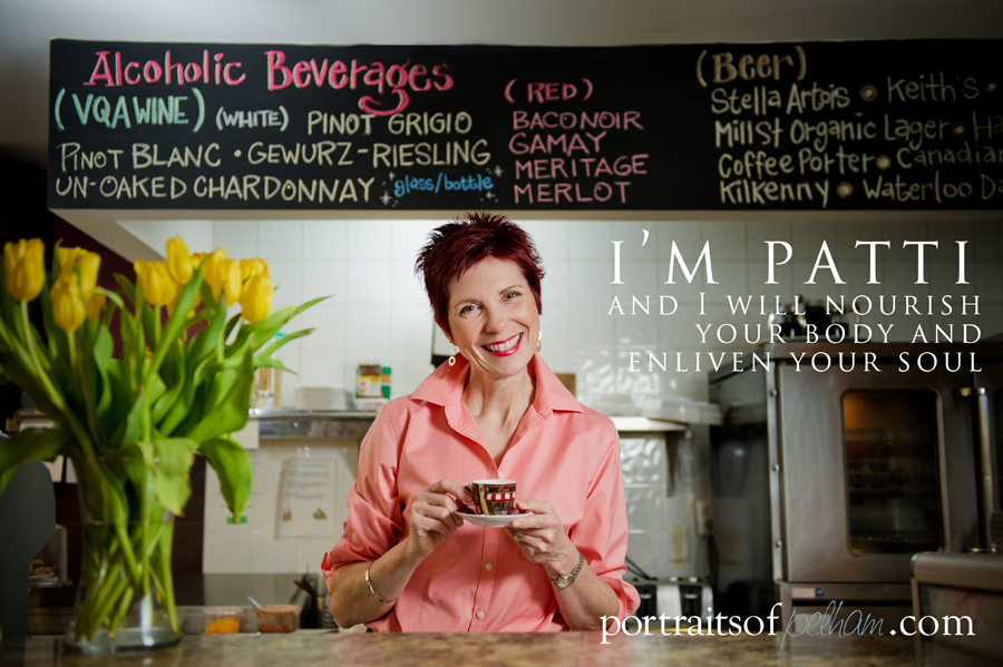Patti Fagan from the Cafe on Main