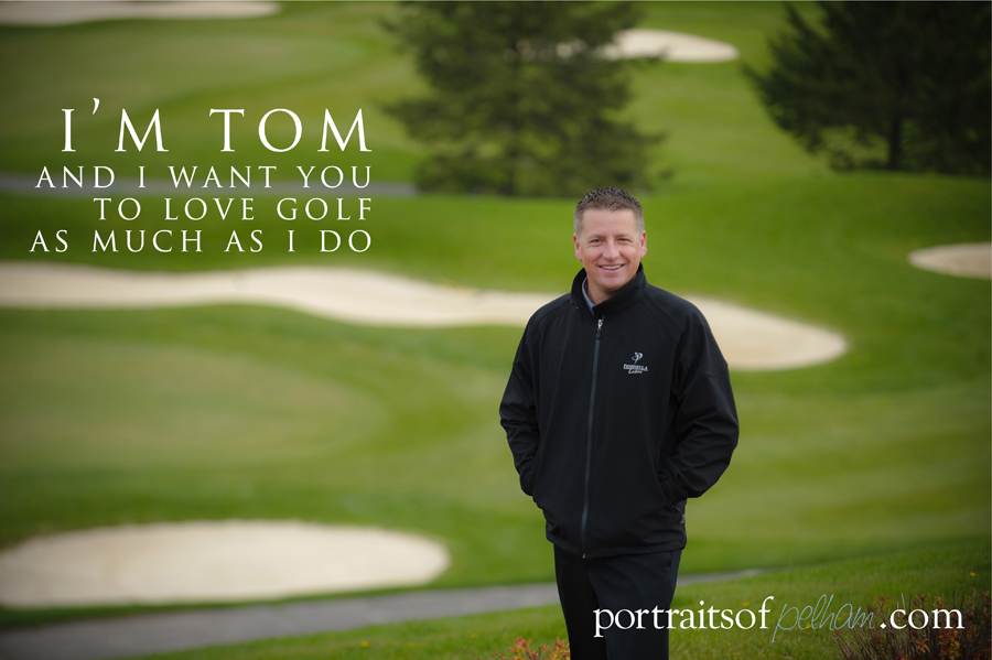 Tom Vanderlip from Peninsula Lakes Golf Club