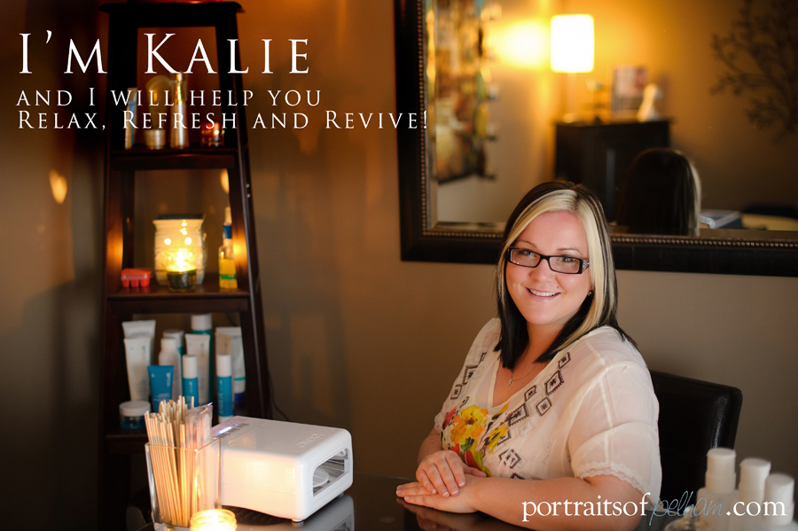 Kalie Bertran from Bella Vita Day Spa
