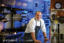 Chef Jason Williams from Peninsula Lakes Golf Course