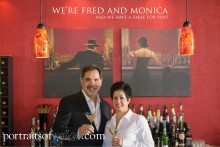 Fred and Monica Davies of San Marco's Italiano